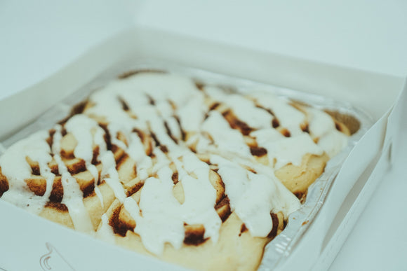 Cinnamon Roll Delivery          ( Comes in a Tin Containing 4 Cinnamon Rolls )