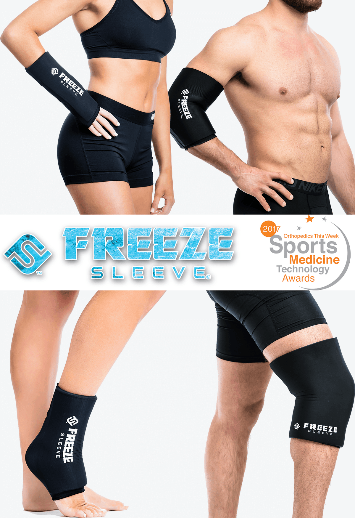 Freeze Sleeve Black