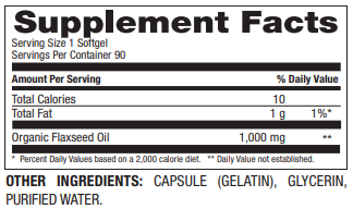 Flaxseed Oil 1,000mg