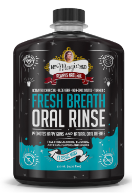 Magic Mud Oral Rinse-Classic Mint