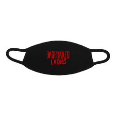 Barenaked Ladies Black Logo Mask