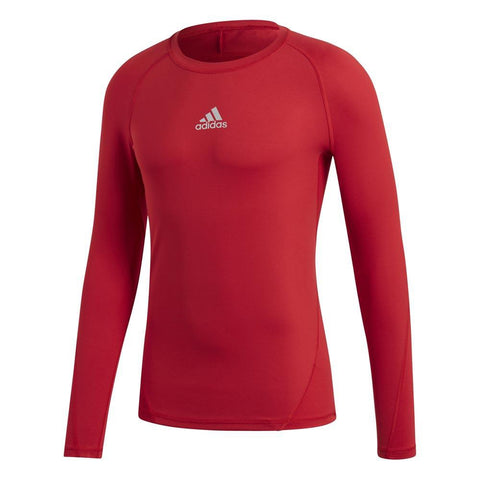 Adidas Men's Alphaskin Base Layer - Red