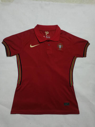 Womens Portugal Home Jersey 2020