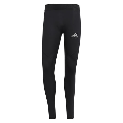 Adidas Men's Alphaskin Long Tights - Black