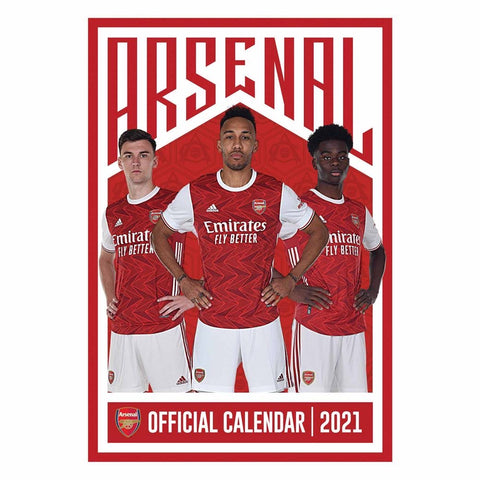 Arsenal Official 2021 Calendar