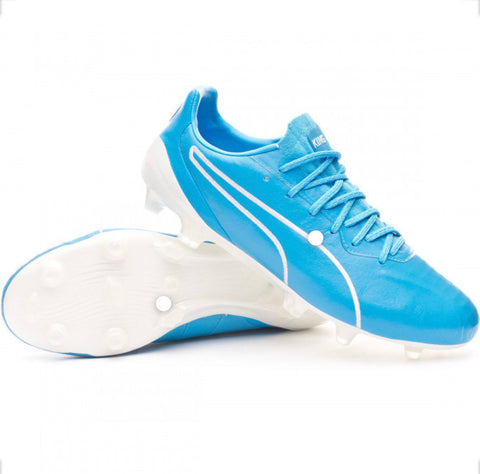 Puma King Platinum FG - Blue