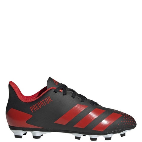 Adidas Predator 20.4 FxG J- Black/Red