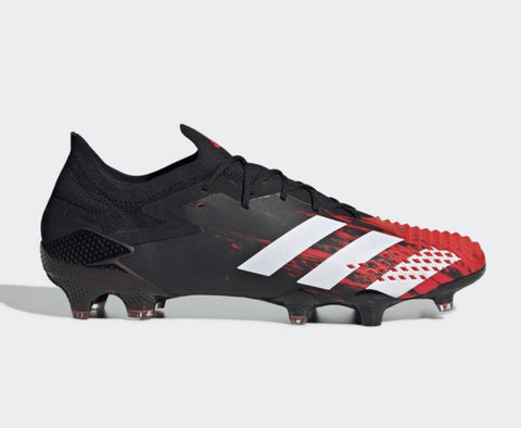 Adidas Predator Mutator 20.1 L FG - Black/White/Red