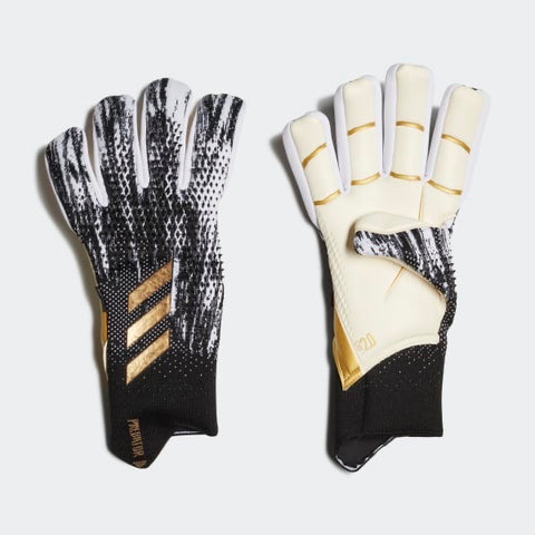 Adidas Predator 20 Pro Fingersave Gloves - Black/White