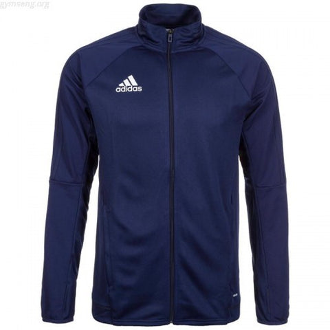 Adidas Youth Tiro 17 Track Jacket - Navy Blue