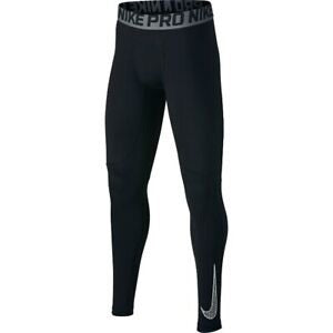 Nike Youth Pro Training Pants - Black