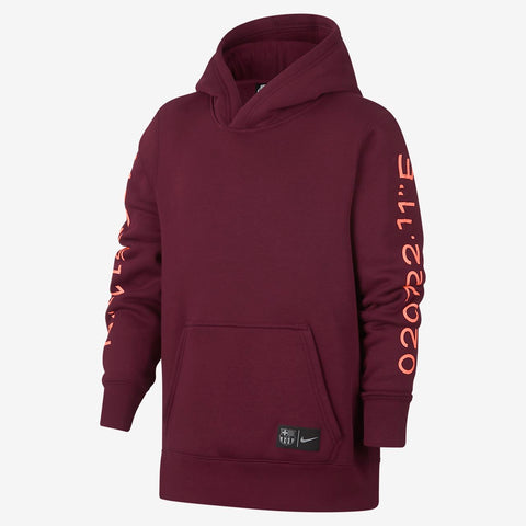 Barcelona Youth Pullover Hoodie