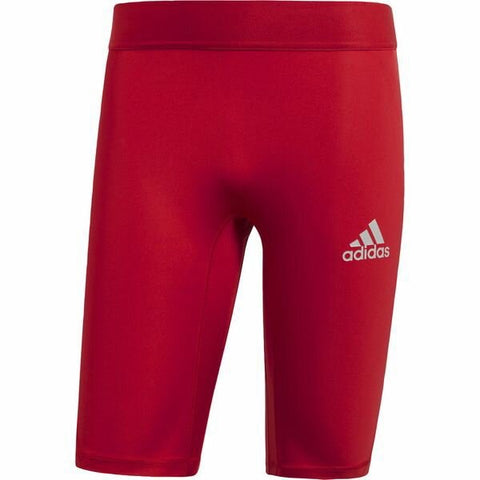 Adidas Alphaskin Tight Short - Red