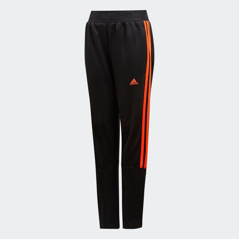 Adidas Youth Tiro Pants - Black / Solar Red