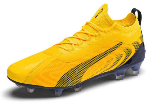 Puma One 20.1 FG - Yellow/Black/Orange