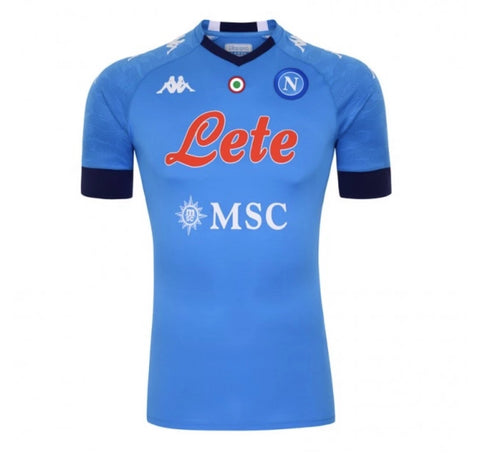 SCC Napoli Official Home Jersey 2020/21