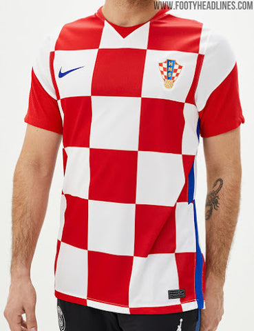 Men's Croatia Home Jersey 2020