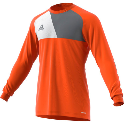 Adidas Men's Assita 17 Goalkeeper Jersey - Solar Red