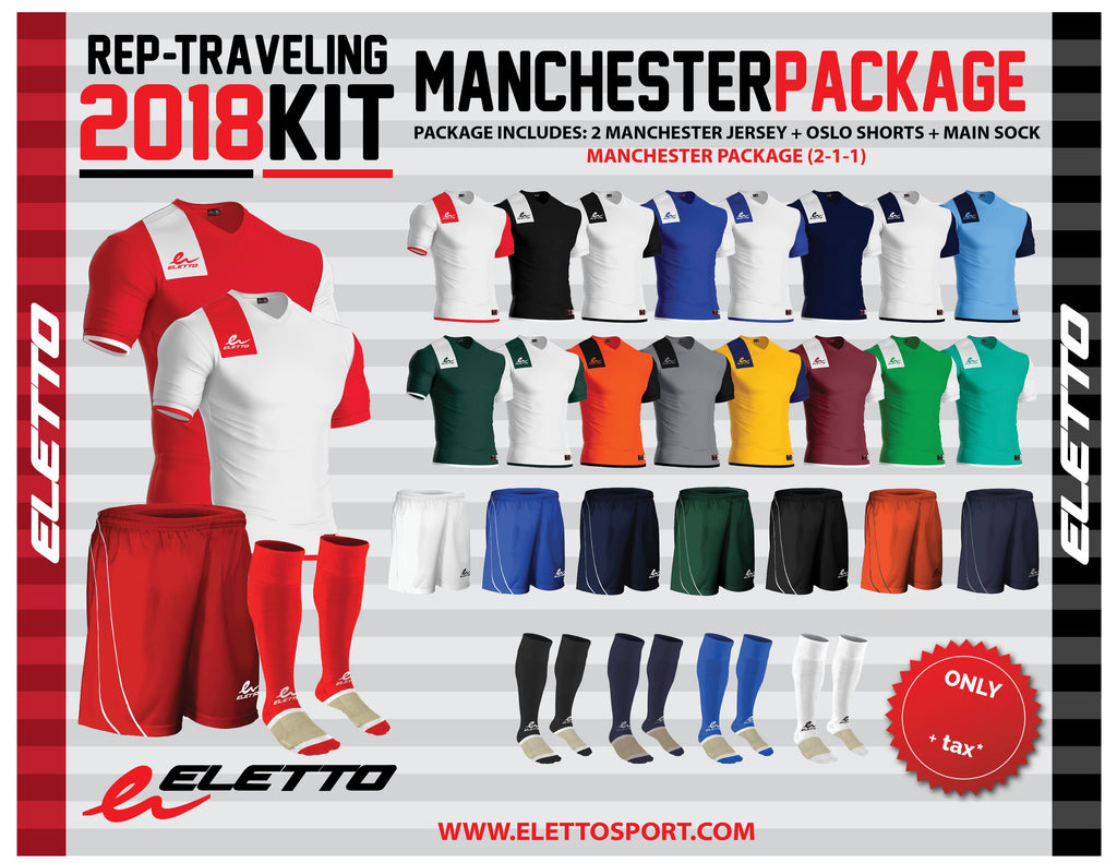 0cac5cce5 Eletto Manchester Package - Navy White White Navy – City Soccer Plus