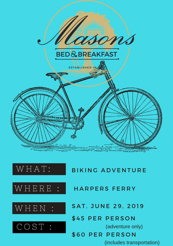 Mason's BNB: Biking Adventure