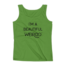 I'M A BEAUTIFUL WEIRDO TANK