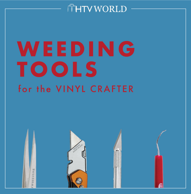Four Weeding Tools for the Vinyl Crafter in us All