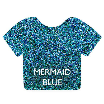 Mermaid Blue Siser Glitter