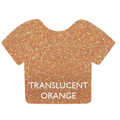 Translucent Orange Siser Glitter