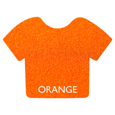 Orange Siser StripFlock