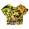 Gold Crystal Siser Holographic