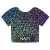 Navy Siser Holographic
