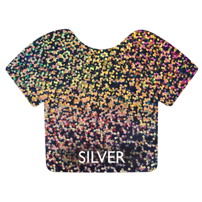 Silver Siser Holographic