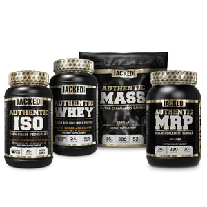 Authentic ISO, Authentic Whey, Authentic Mass, Authentic MRP