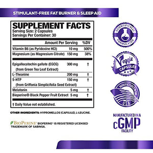 Lean-PM (60 count): nutritional information