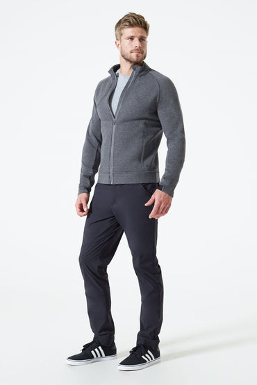 Academy Fleece Zip-Up Sweater