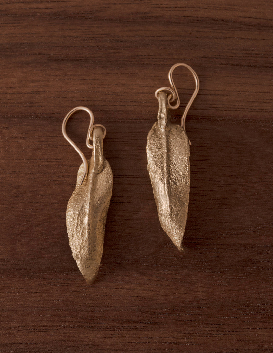 Sage Wisdom Earrings - Open Leaves