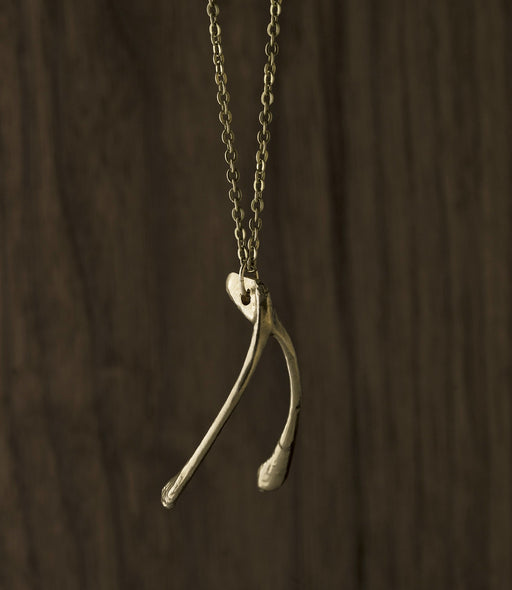 Wishbone Good Fortune Necklace