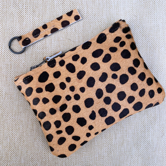 Brown Cheetah Gift Set