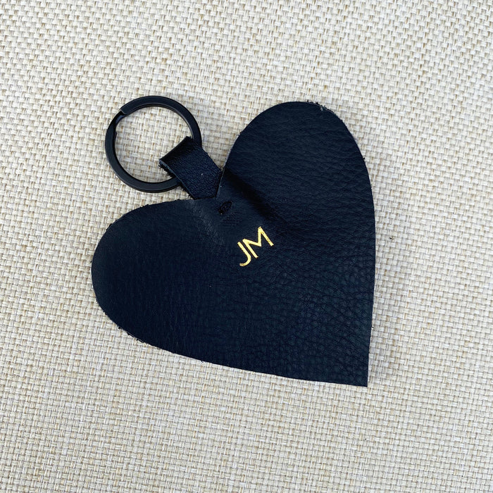 Personalised 'HEART' keyring