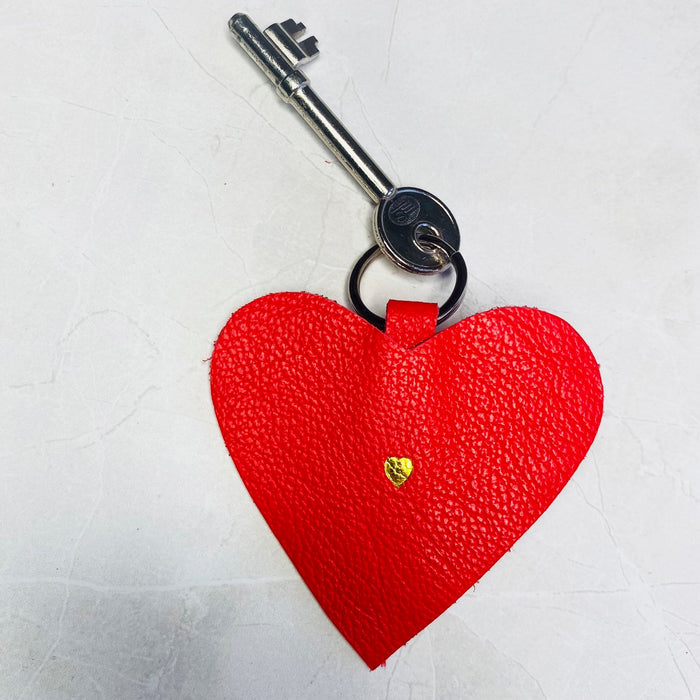 RED HEART KEYRING