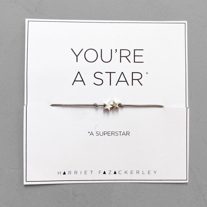 You're a star (a superstar)