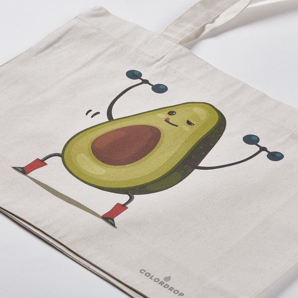 Shopping bag Avocado