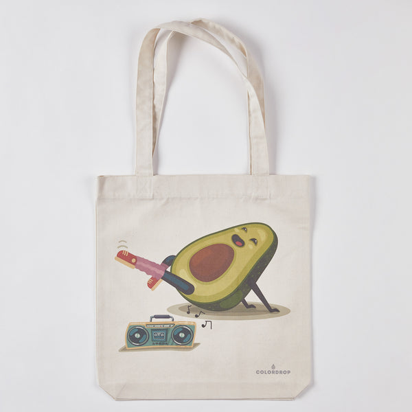 Tote bag Avocado