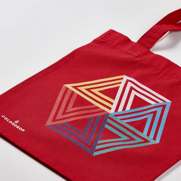 Tote bag Hexagon