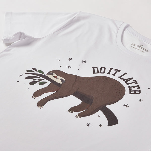 Tricou Do it later