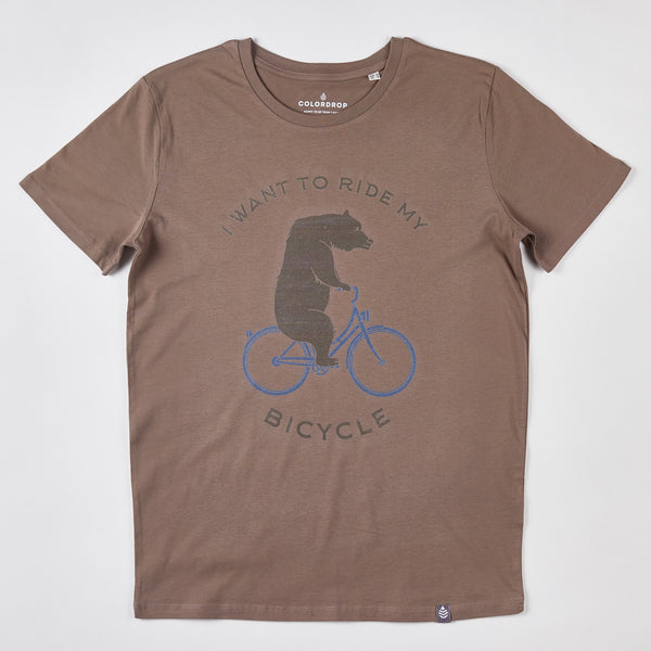 Tricou I want to ride my bicycle
