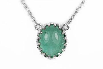 3.10cts Emerald Necklace