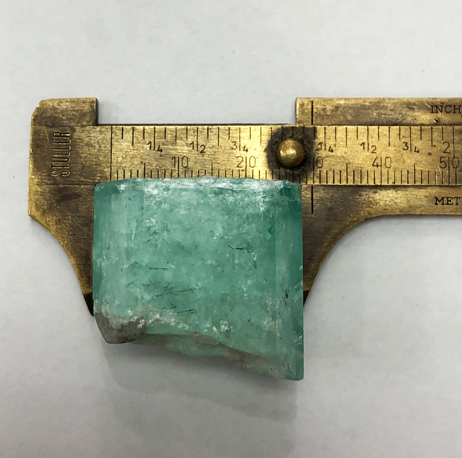 155.83 Carat Loose Natural Single Terminated Rough Colombian Emerald