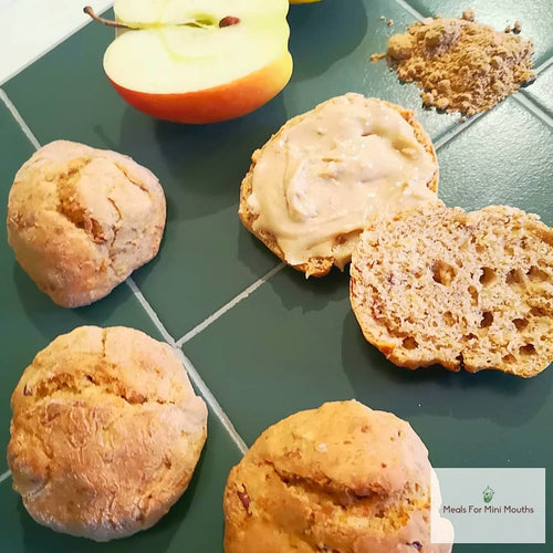 Ginger Apple Scones
