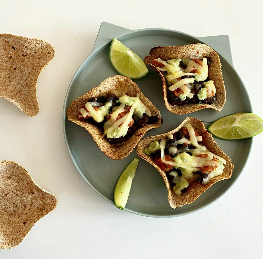 Butternut Squash & Black Bean Tacos